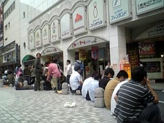 早朝の歌舞伎町
